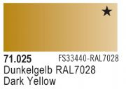 Model Air - Dark Yellow 025 <br>Vallejo71025